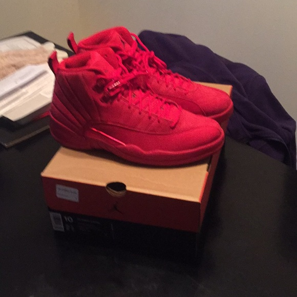 super popular 8ed84 1cb47 Brand new never had foot n them retro gym red 12s NWT